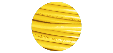 Cat5e Bulk Cables  Descending Length Cable Markings