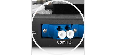 DWDM 赤/青 フィルター  目を保護するための傾斜コネクタ