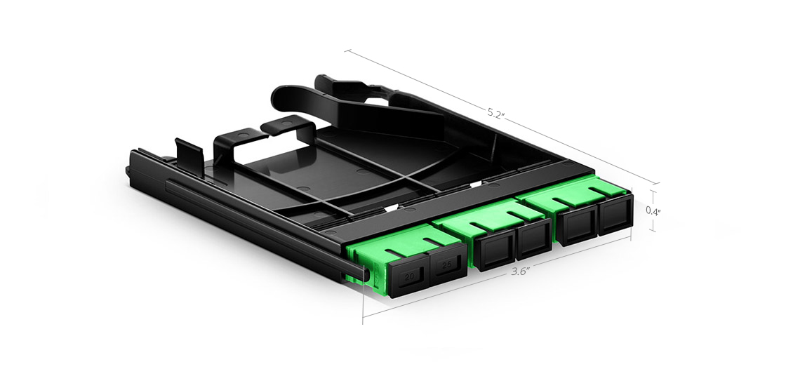 FHX LC SC MTP FAPs  Fiber Adapter Panel Built for Next-generation Density Demands