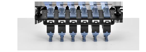 FHD LC SC MTP FAPs  Estructura mejorada con placa de seguridad
