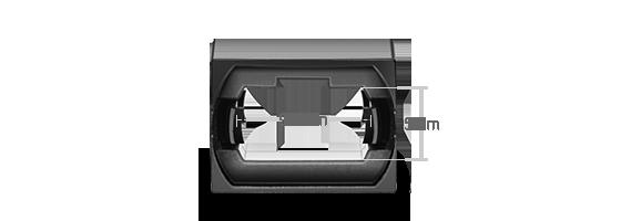 FHD LC SC MTP FAPs Adaptador Key Up-Key Down