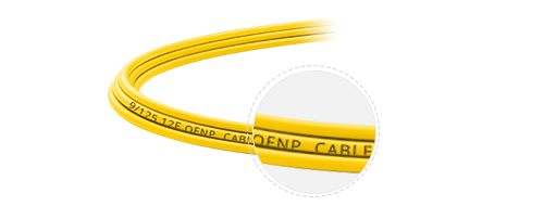 Customised MTP Fibre Cables  Plenum Rated Outer Jacket