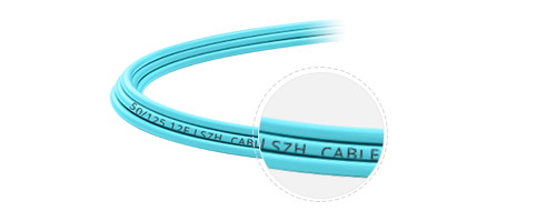 Customised MPO Fibre Cables  Low-smoke-zero-halogen Rated