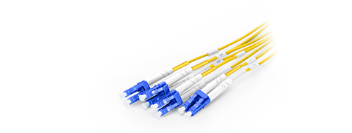 MTP/MPO-LC LSZH Harness Cables LC Connector with Premium Ceramic Ferrule