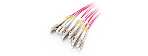 Customized MTP Fiber Cables 0.2dB Low Insertion Loss LC Connector