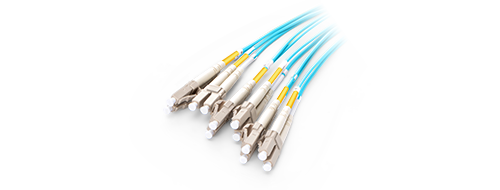 Customised MPO Fibre Cables 0.2dB Low Insertion Loss LC Connector
