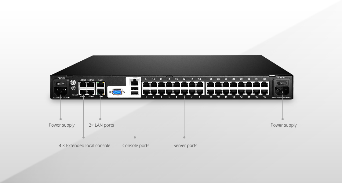 Rack Mount KVM Switches  Easy-to-use KVM switch simplifies IT work