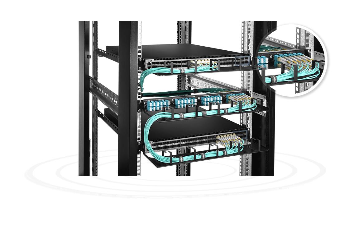 FHD Adapter Panels  High-Density Fiber Adapter Panel for Pass-Through Applications