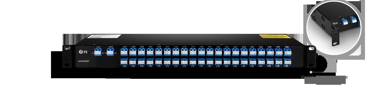DWDM MUX DEMUX  Mux/Demux 40 Channels over Dual Fiber