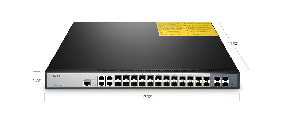 Switches 1G/10G Switch de alto rendimiento para redes empresariales