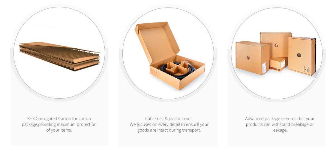 Customized Trunk Cables  Eco-Friendly Packaging & Labeling