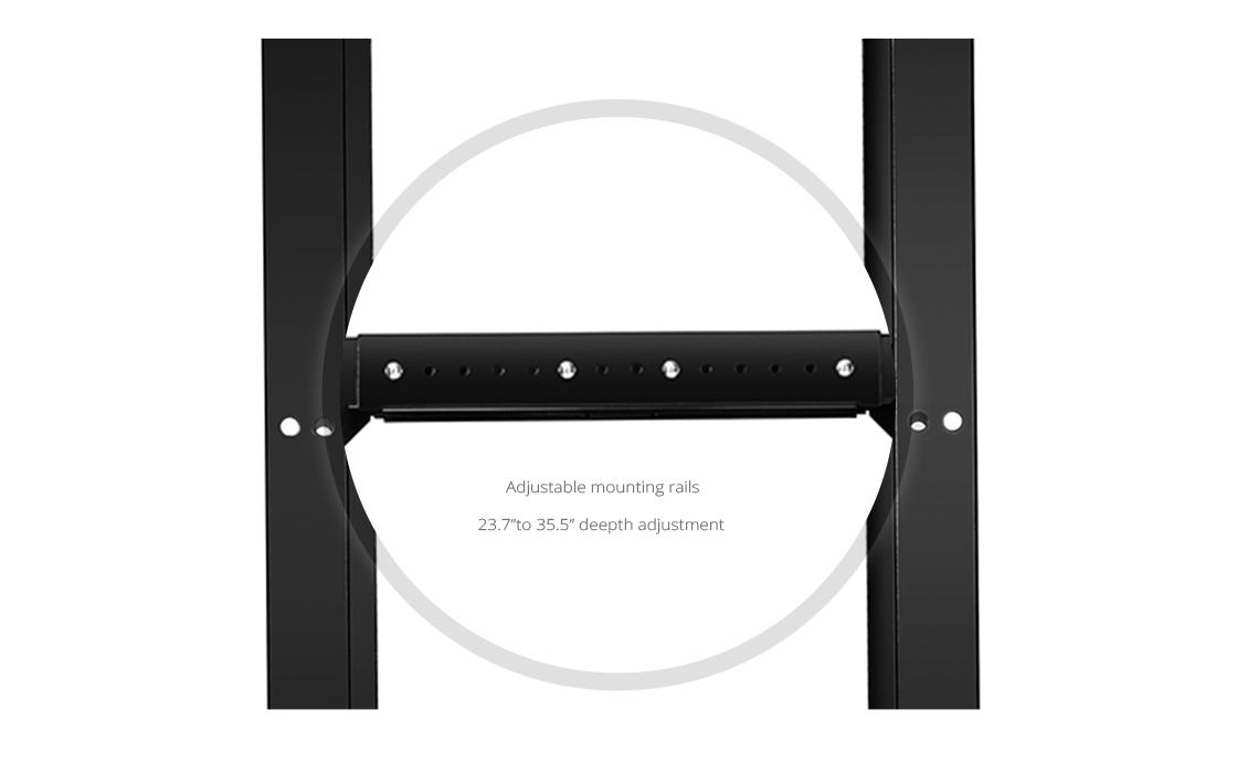 Open Frame Racks  Adjustable Configuration Options for Efficient Equipment