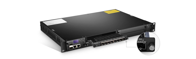 WDM Transponder (OEO)  Easy Installation Enabling Rapid Deployment