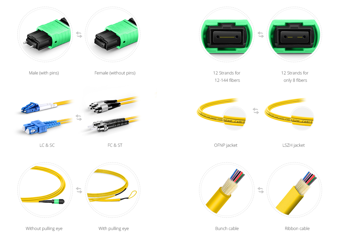 Customised MTP Fibre Cables  Custom Services to Satisfy All Your Needs