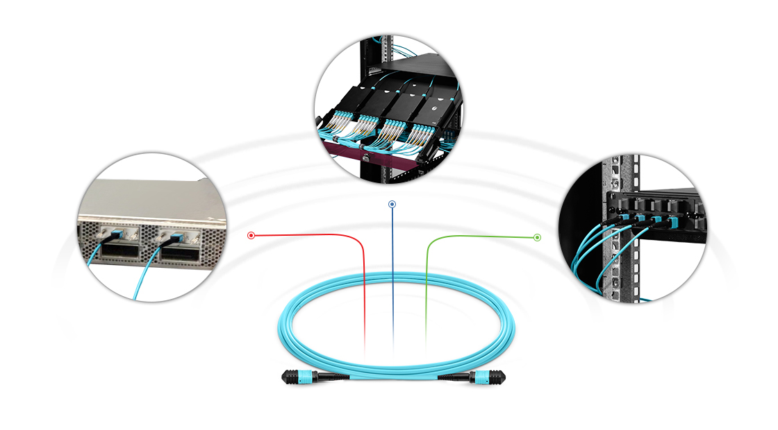 Customised MPO Fibre Cables  High Performance Multifiber Push On Solution