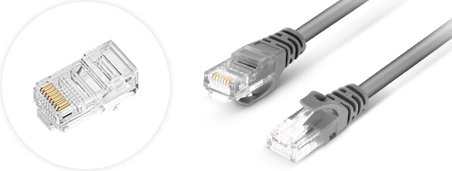 Cat5e Patch Cables  4. Gold-plated connectors design