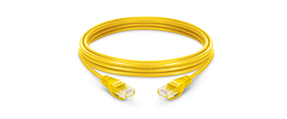 Cat5e Patch Cables  Cat5e Snagless Unshielded (UTP) PVC Ethernet Network Patch Cable