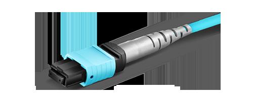 Customized MTP Fiber Cables  Multi-fiber Termination Push-on
