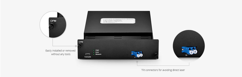 Sistema de automatización  Monitoreo de rendimiento de red óptica de capa alta