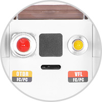 OTDR Praktische VFL-Funktion