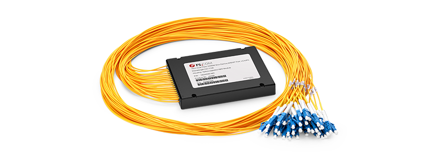 DWDM Mux Demux Mux/Demux de 16 canales sobre fibra dual