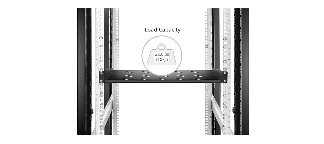 Shelves & Accessories   The Ideal Solution for Mounting any Non-rackmount Equipment