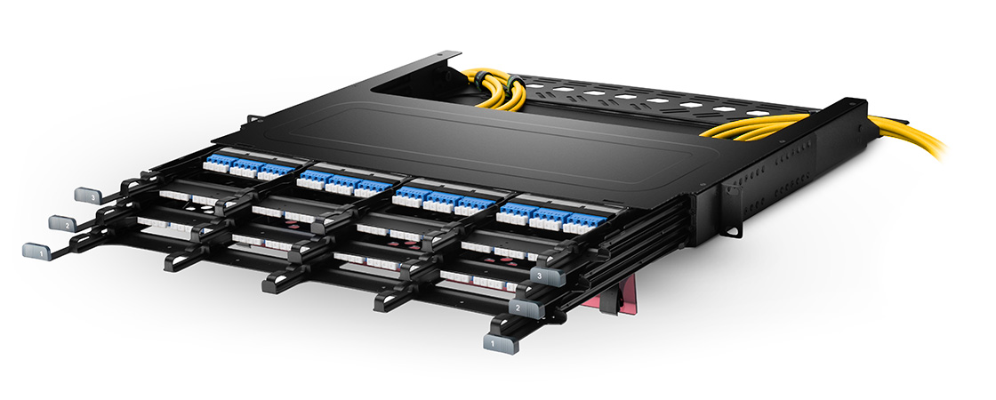 FHX Splice Cassettes  Ultra High Density, Modular Management