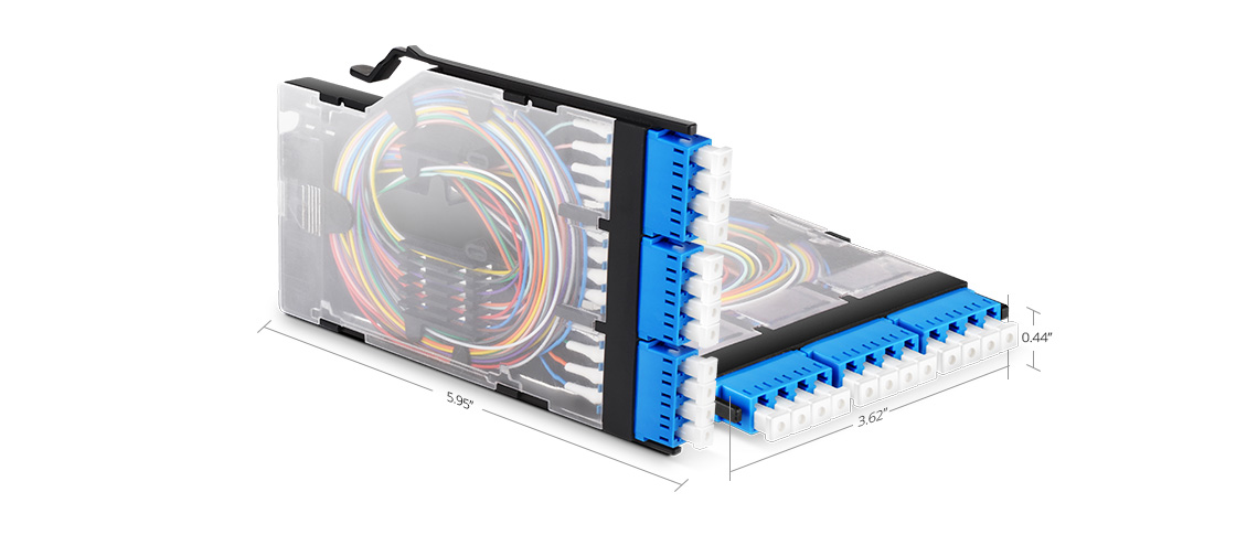 FHX Splice Cassettes  Flexibly Designed to Speed Deployment