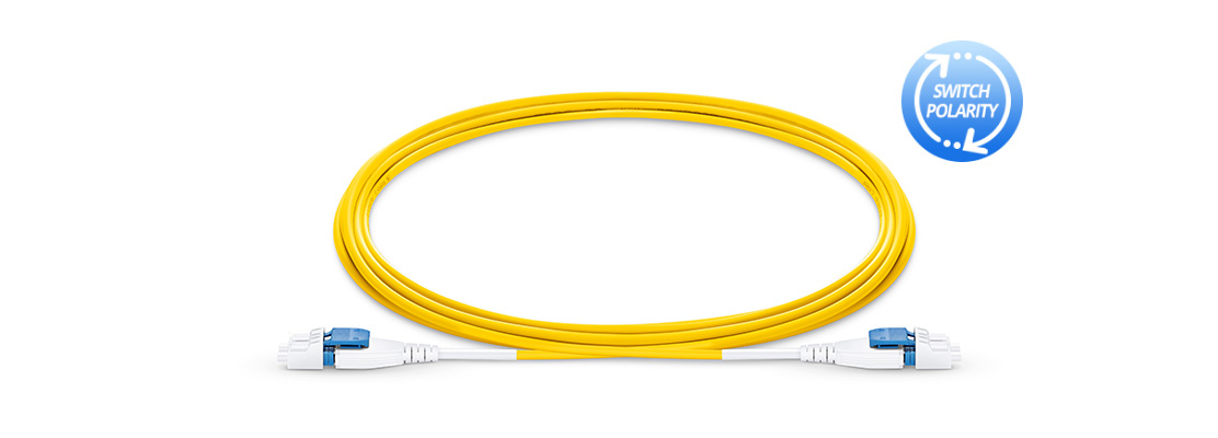 Uniboot Fibre Cables Quick and Easy Reverse-Polarity Uniboot Patch Cables