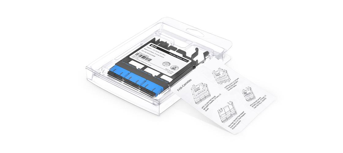 Panneaux d'Adaptateur LC SC MTP FHX  Détails d'Emballage