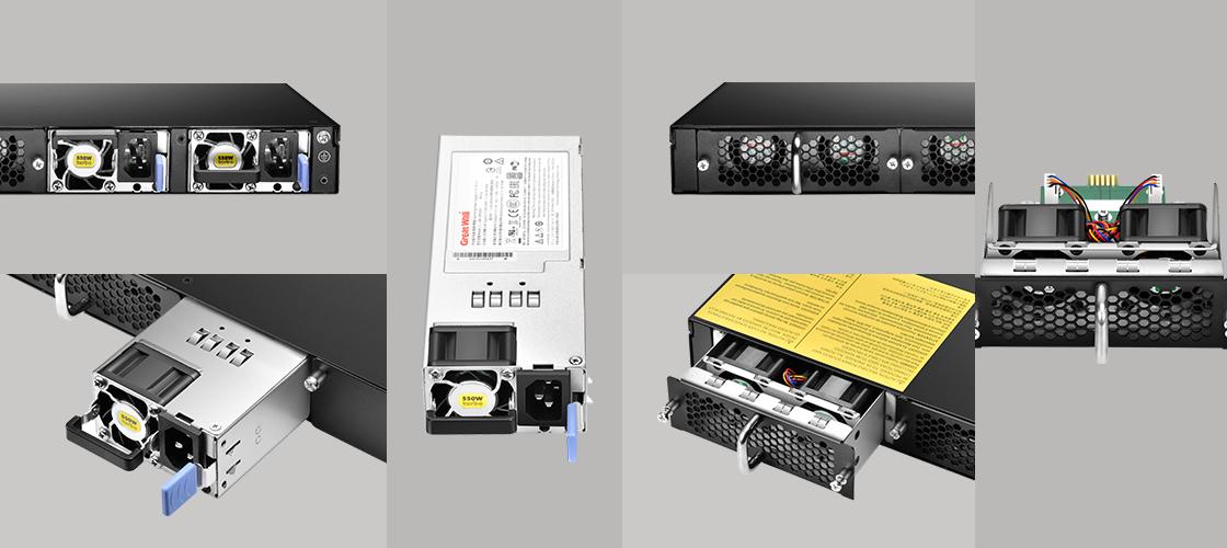40Gスイッチ  柔軟なハードウェア設計