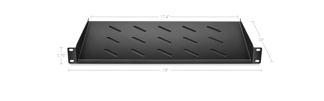 Shelves & Accessories  Designed to Fit Standard 19'' Rack & Cabinet
