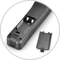 Identificadores de Fibra & Equipo de Conversación Ranura para tarjeta de batería