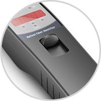 Identificadores de Fibra & Equipo de Conversación Identifica el disparador de prueba