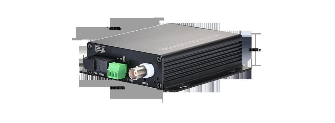 HD-TVI Оптические Видеоконвертеры  1-Канальный HD-TVI Волоконно-видео Конвертер