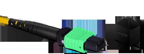 Cables troncales MTP®/MPO  Tapa protectora contra el polvo