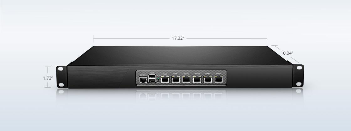 Routers   Conveniente diseño de montaje en rack