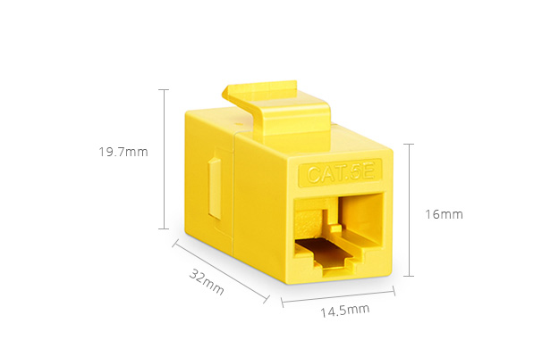 Inline Couplers RJ45 Coupler Module - Superior Construction for Superior Performance