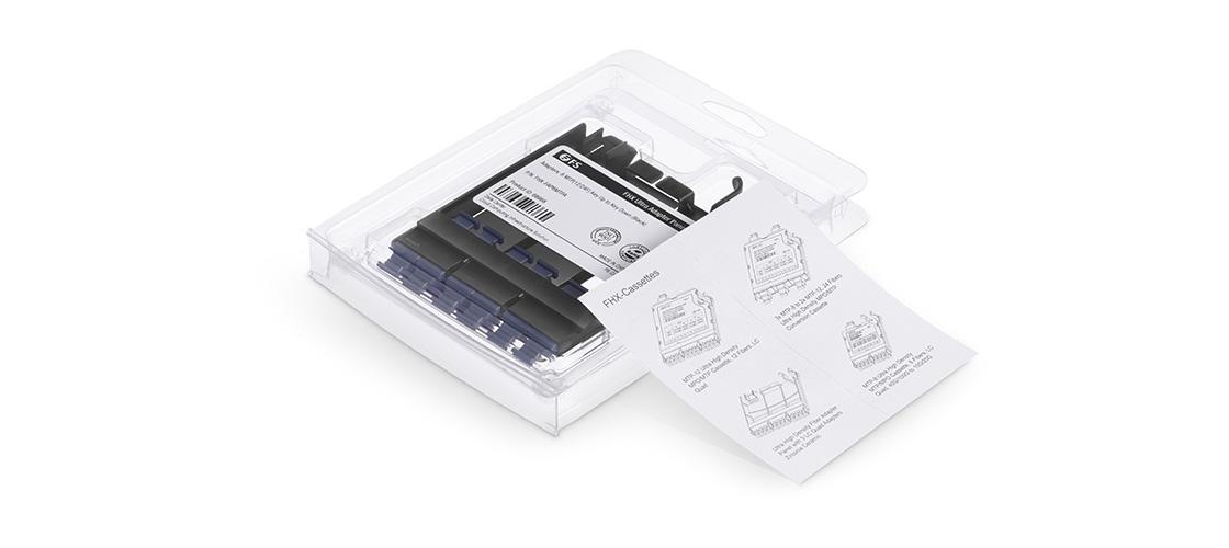 FHX LC SC MTP FAPs Панели  Детали упаковки