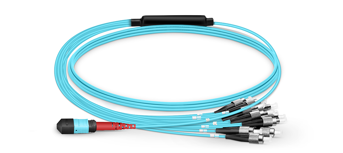 MTP-LC Harness Cables  Make MTP Breakout Cable Your Choice for High Density Fiber Networks