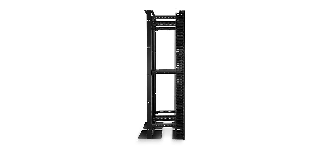 Vertikaler Kabelmanager Produktanwendung