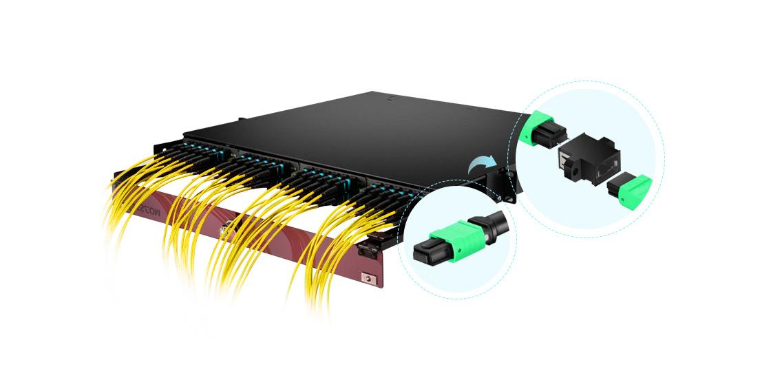 Cables troncales MTP®/MPO Mayor densidad y espacio con cable troncal MTP
