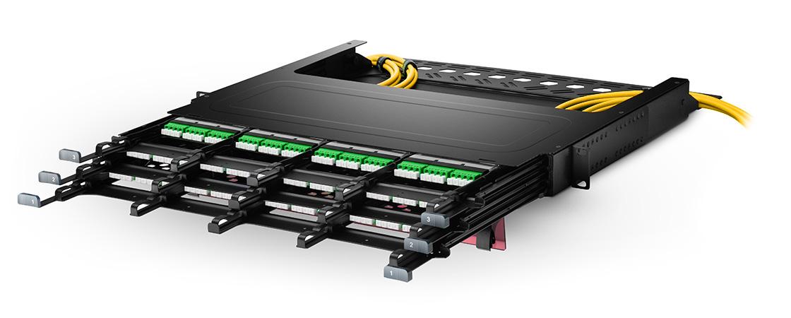 FHX Splice Cassettes  Ultra High Density, Modular Management