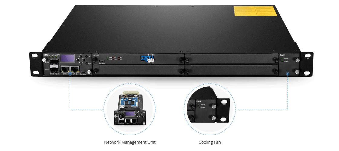 Chassis & Accessories Network Management Unit for Monitoring FMT System
