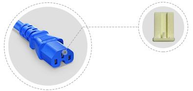 Cables de alimentación NEMA Marco de plástico interno