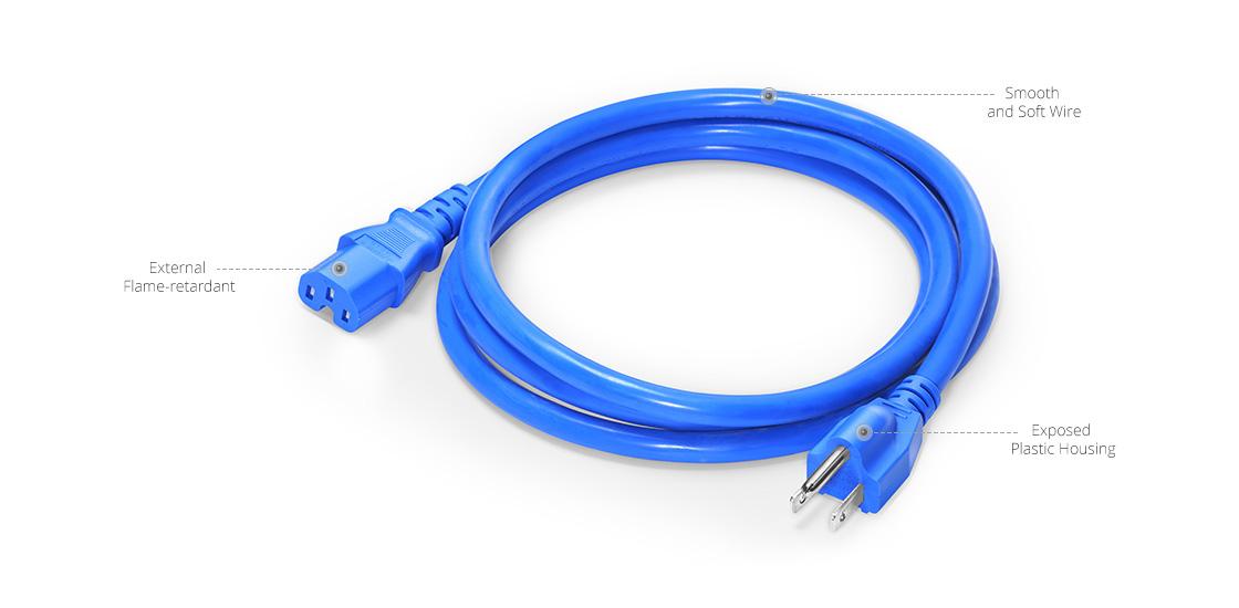 Cables de alimentación NEMA Elaboración de los cables de alimentación