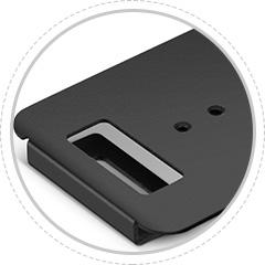Enclosure Accessories <br>The mounting holes provide added stability, easily installation.
