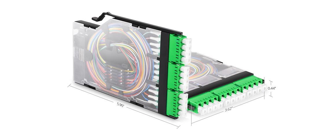 FHX Splice Cassettes  Flexibly Designed to Speed Deployment