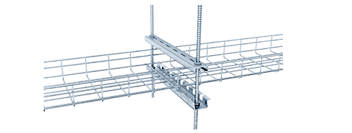 Wire Mesh Cable Tray 4.Multiple installation methods