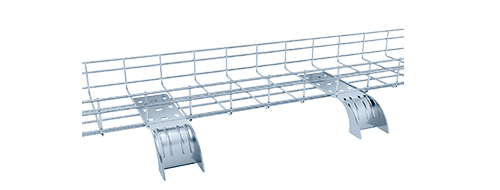 Wire Mesh Cable Tray 2.Good heat dissipation